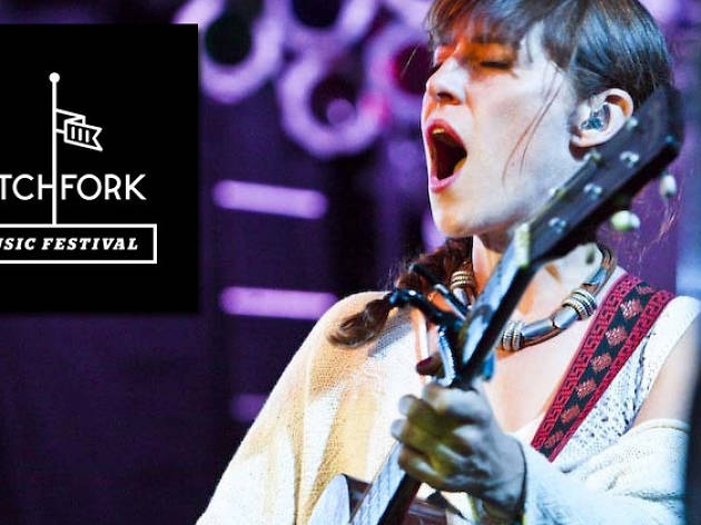 Feist at Pitchfork 2012