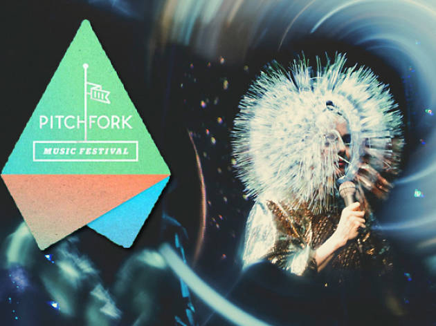 Björk at Pitchfork 2013