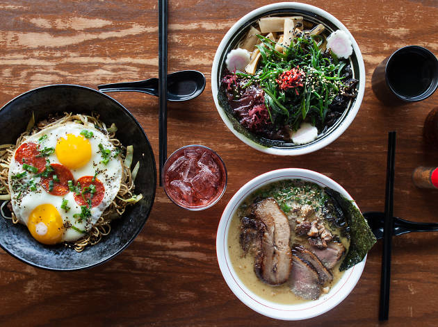 Strings Ramen is one of the best spots for ramen in Chicago.