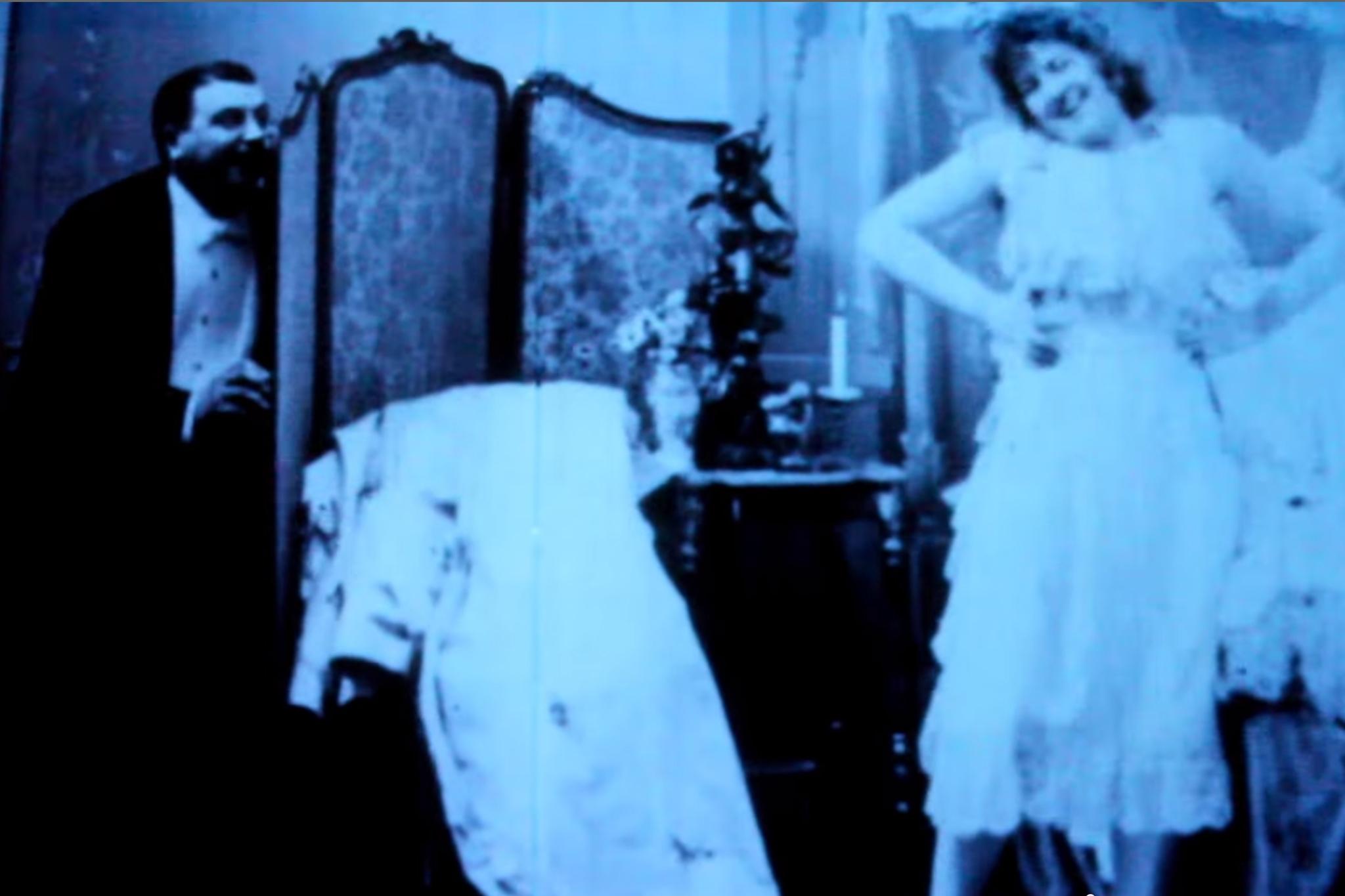 'Le Coucher de la Mariée' (Bedtime for the Bride) (1896)