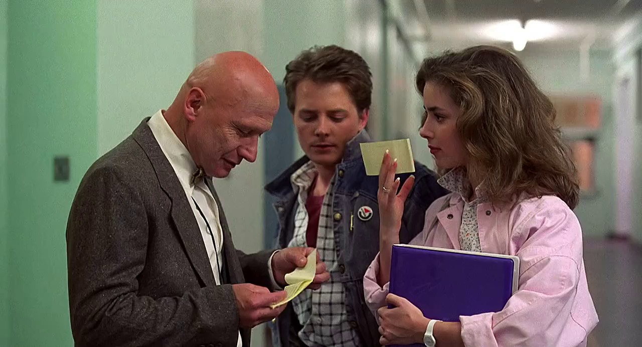 Best teen movies, Back to the Future, Mr. Strickland