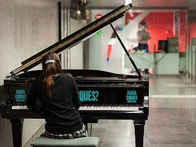 The Maria Canals Competition leaves pianos round BCN