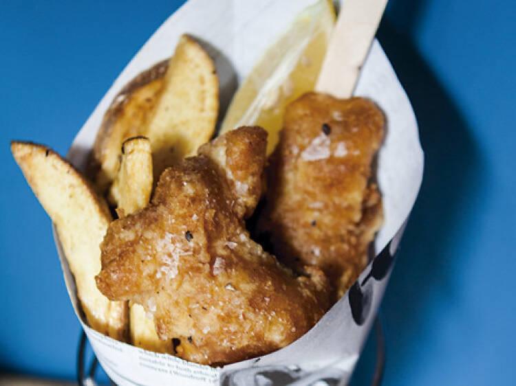 The Fish and Chips Shop Balmes