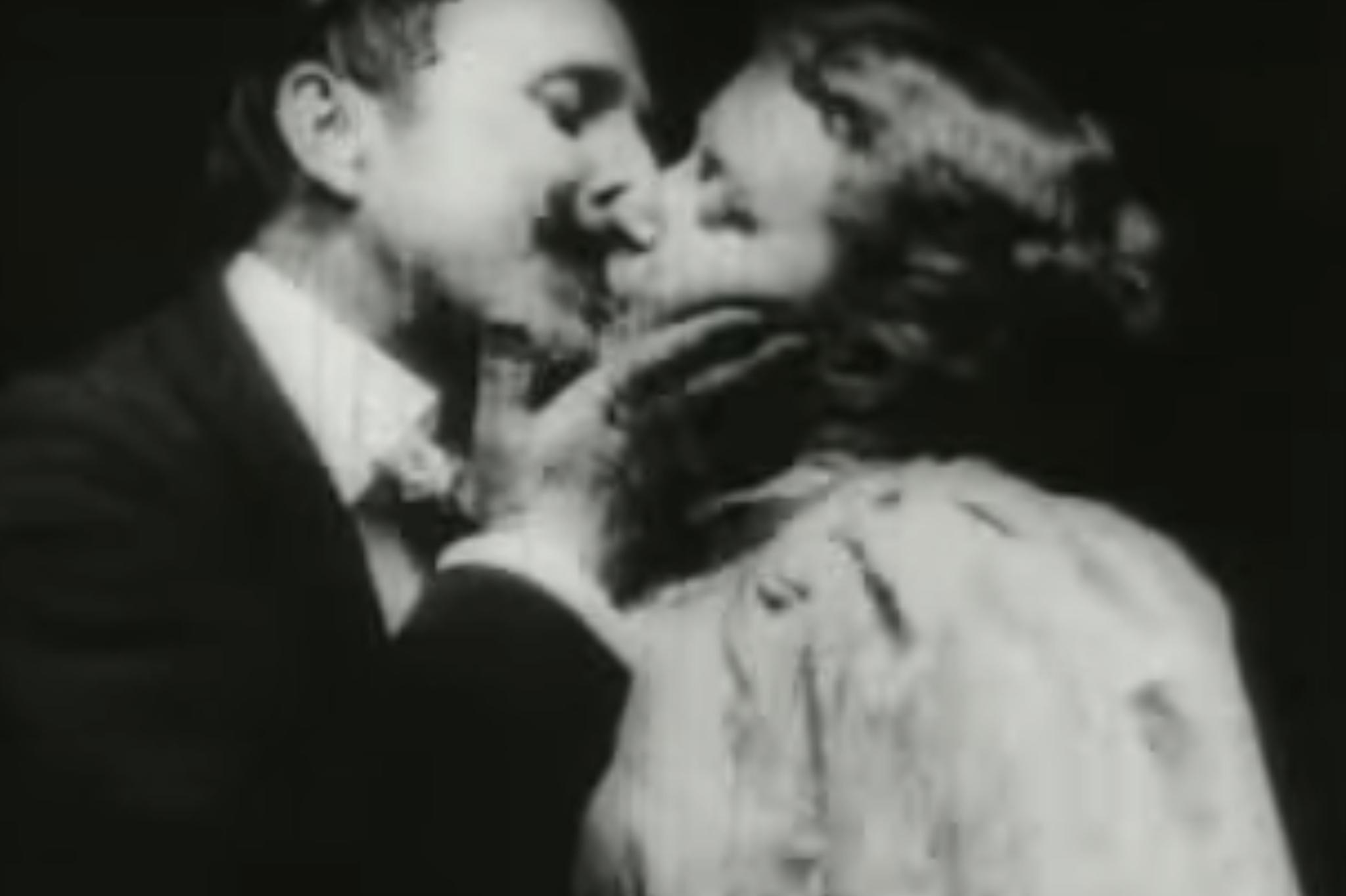 'The Kiss' (1896)