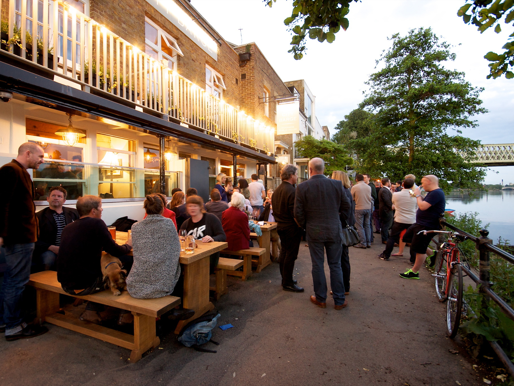 The 100 best bars and pubs in London - City Barge, Chiswick