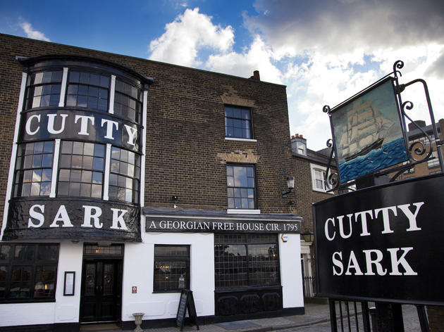 The 100 best bars and pubs in London - Cutty Sark pub, Greenwich