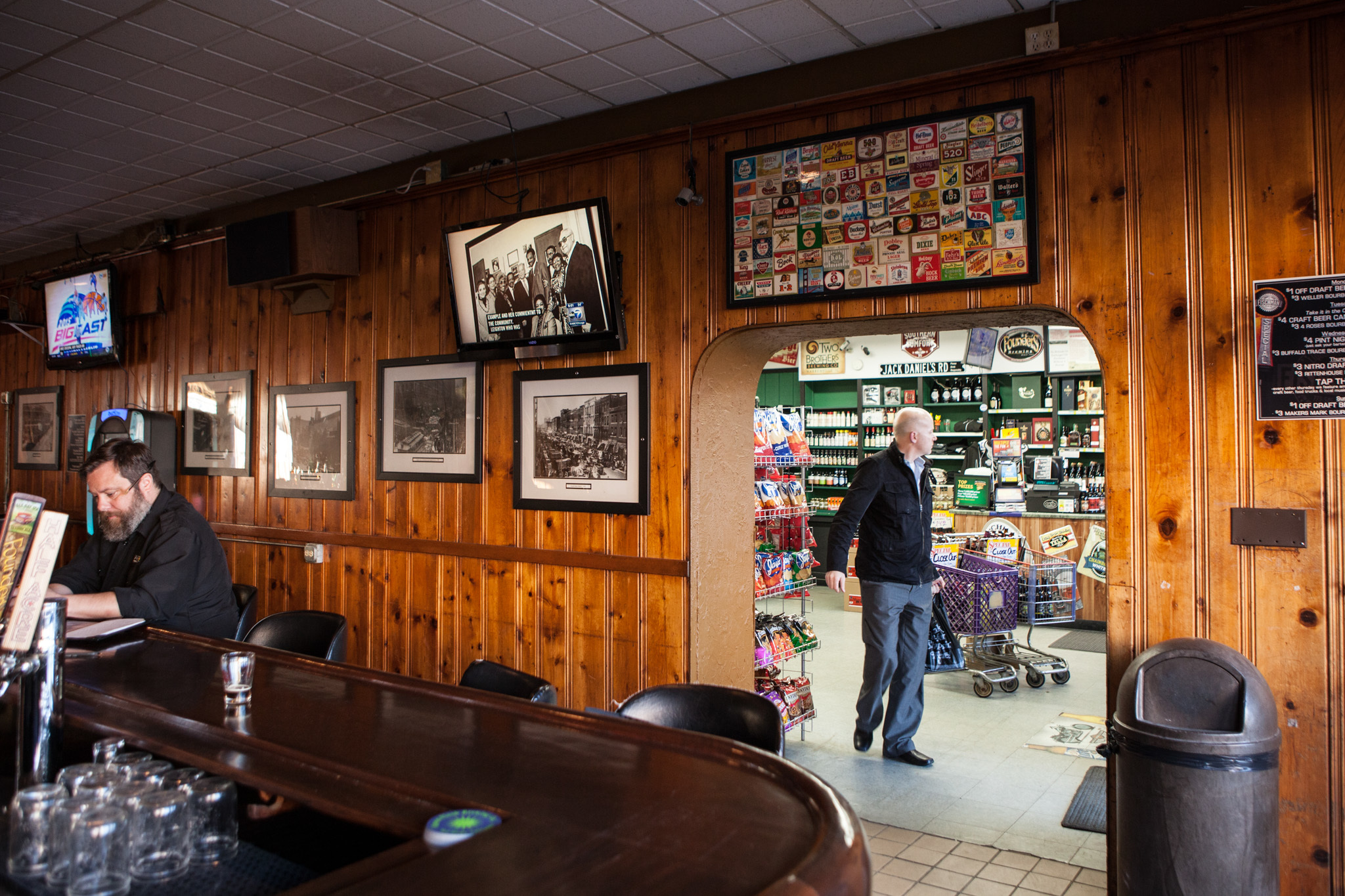 Best bars with liquor stores