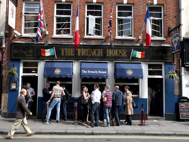 The 100 best bars and pubs in London - French House, Soho