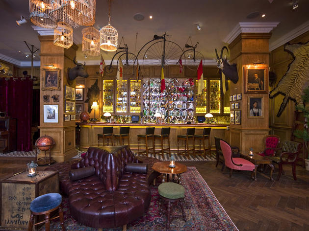 The 100 best bars and pubs in London - Mr Fogg's, Mayfair