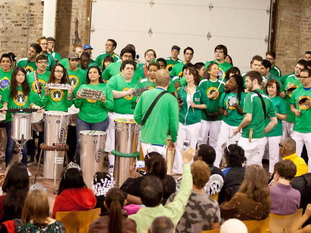 Evanston Escola de Samba: Carnaval 2015