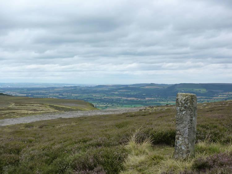 Boundary Stone on Urra Moor