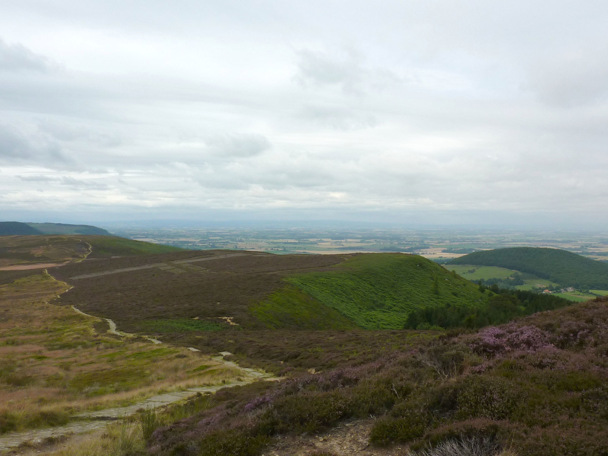 View from Carlton Moor