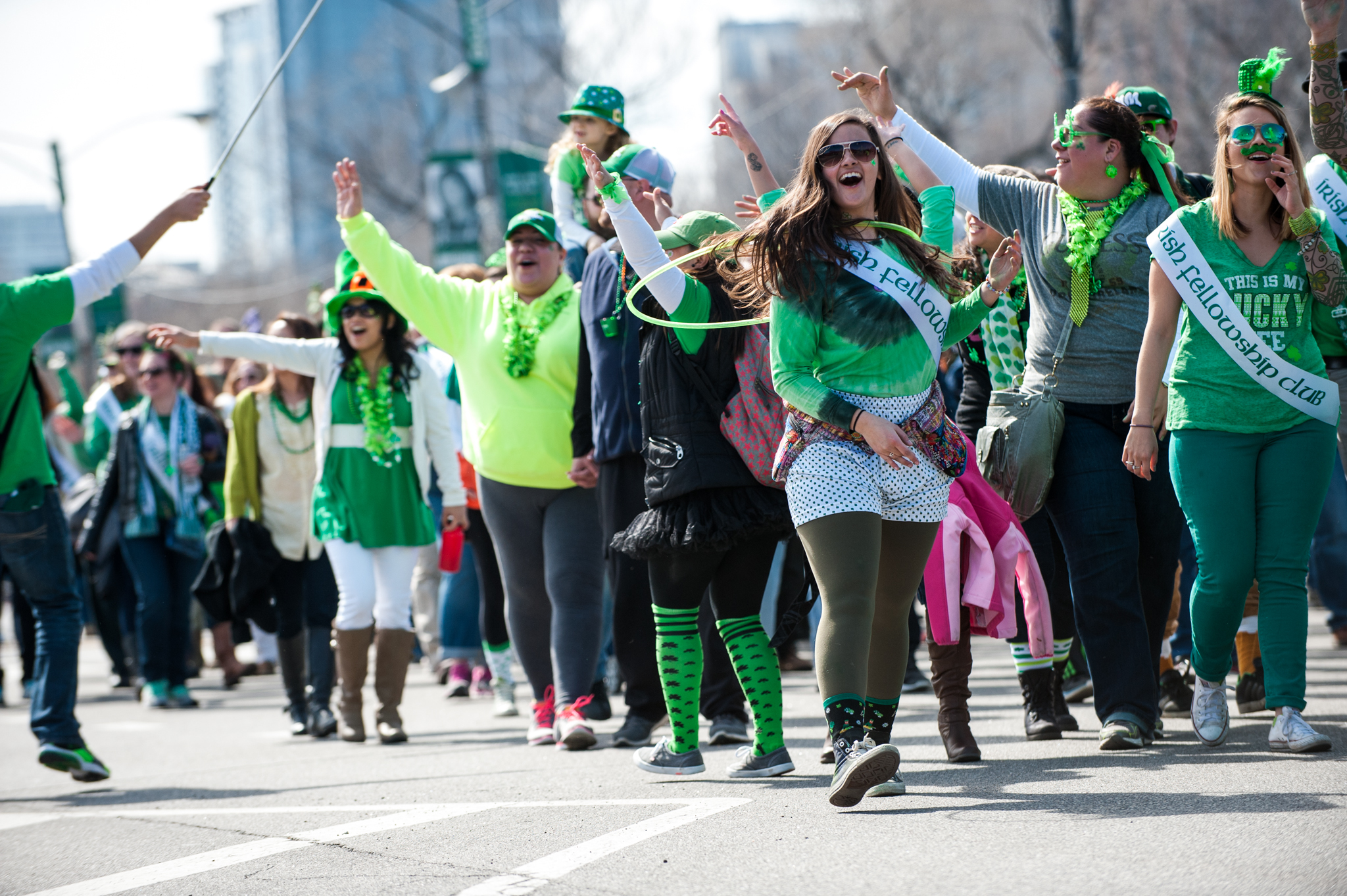 Image result for chicago st patrick's parade