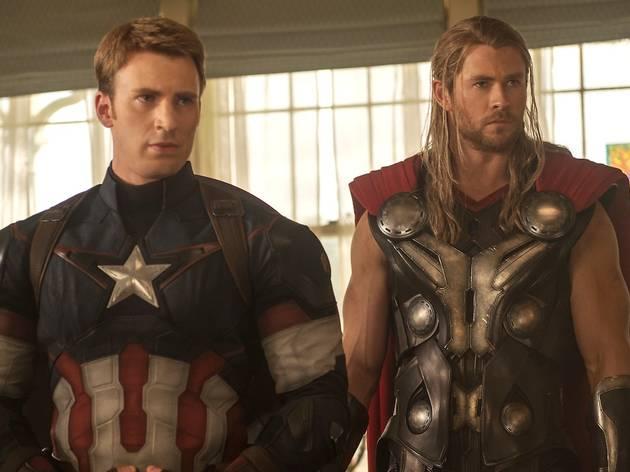 Avengers : L'Ere d'Ultron (de Joss Whedon, avec Robert Downey Jr., Chris Evans, Mark Ruffalo, Samuel L. Jackson et Scarlett Johansson)