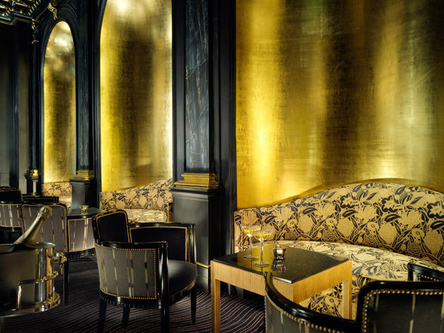 The 100 best bars and pubs in London - Beaufort Bar at The Savoy, The Strand