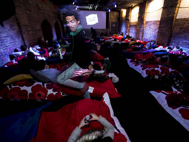 Pillow cinema competition