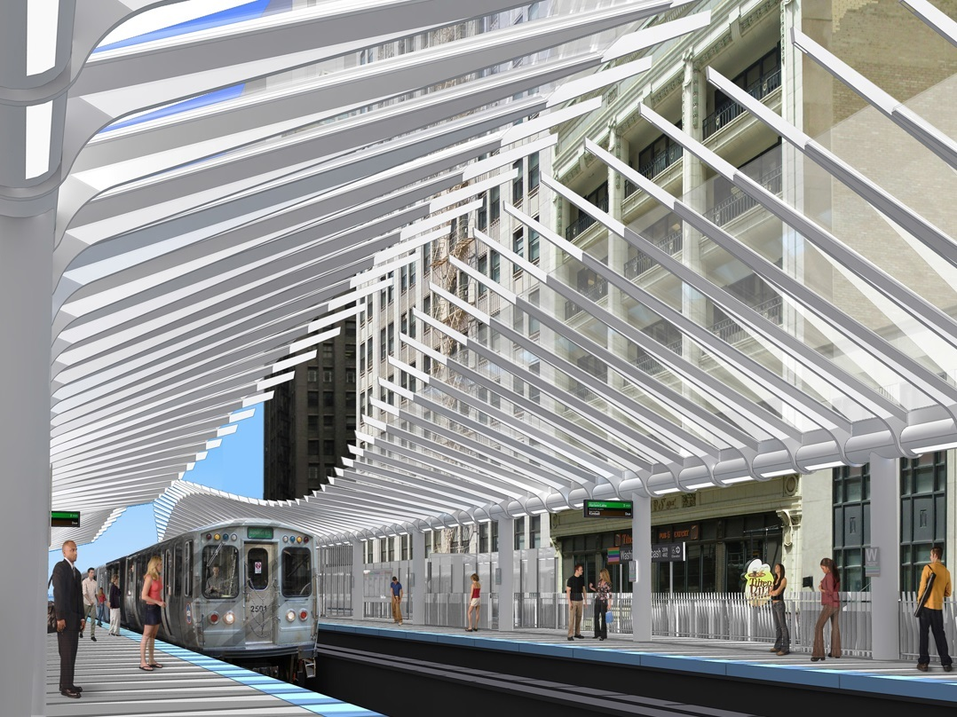Say goodbye to the Madison/Wabash El station