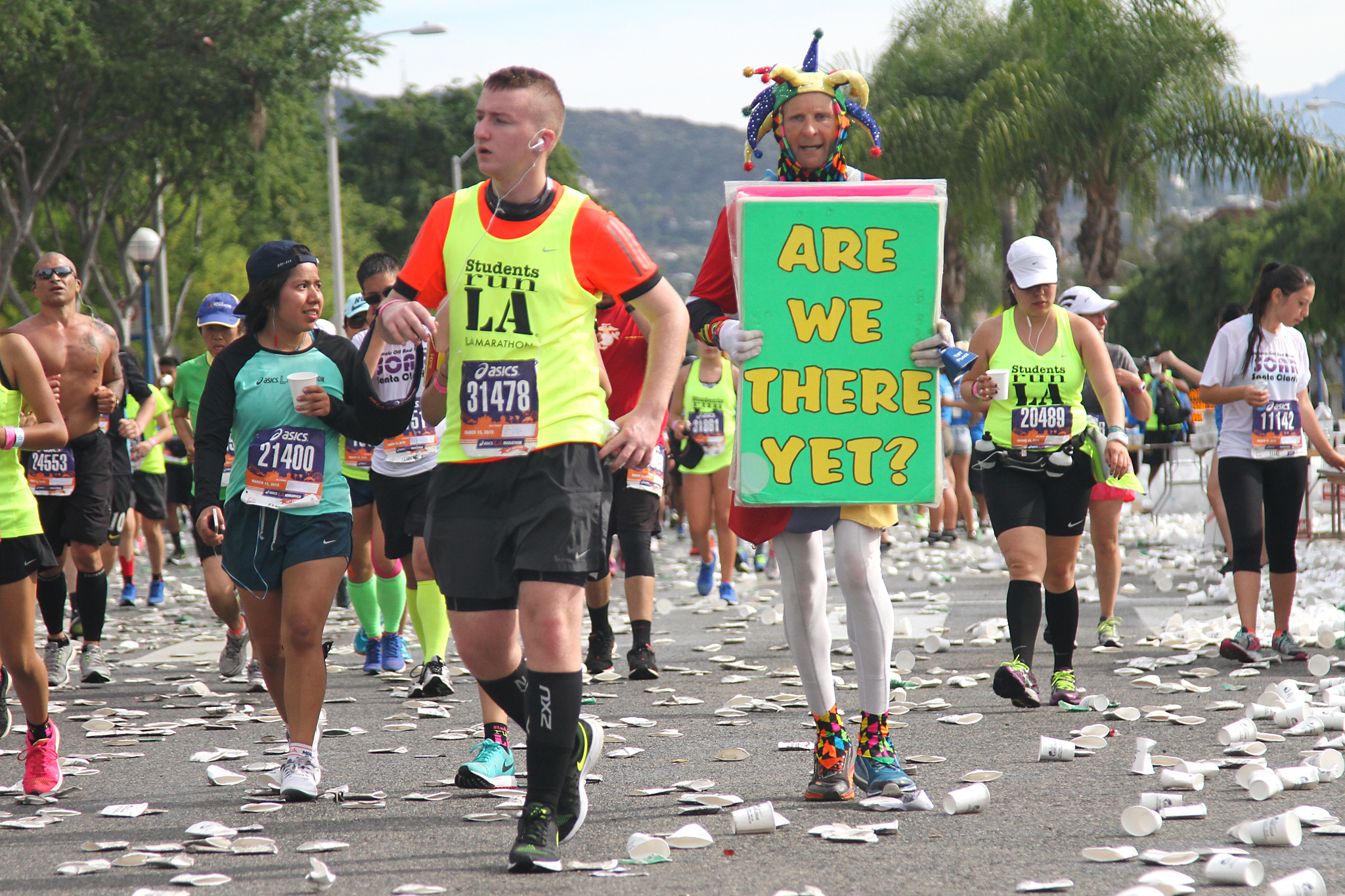 LA Marathon 2015 photos