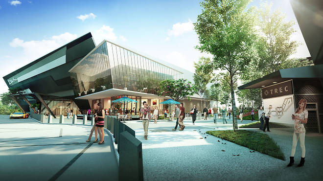 An artist's impression of the new Zouk KL at TREC