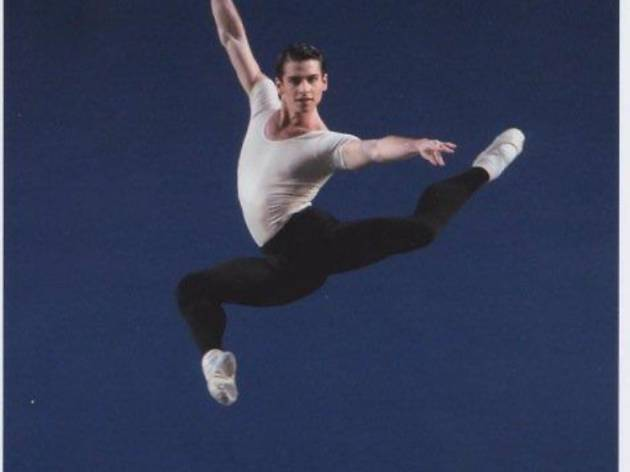 Vincent Paradiso with New York City Ballet