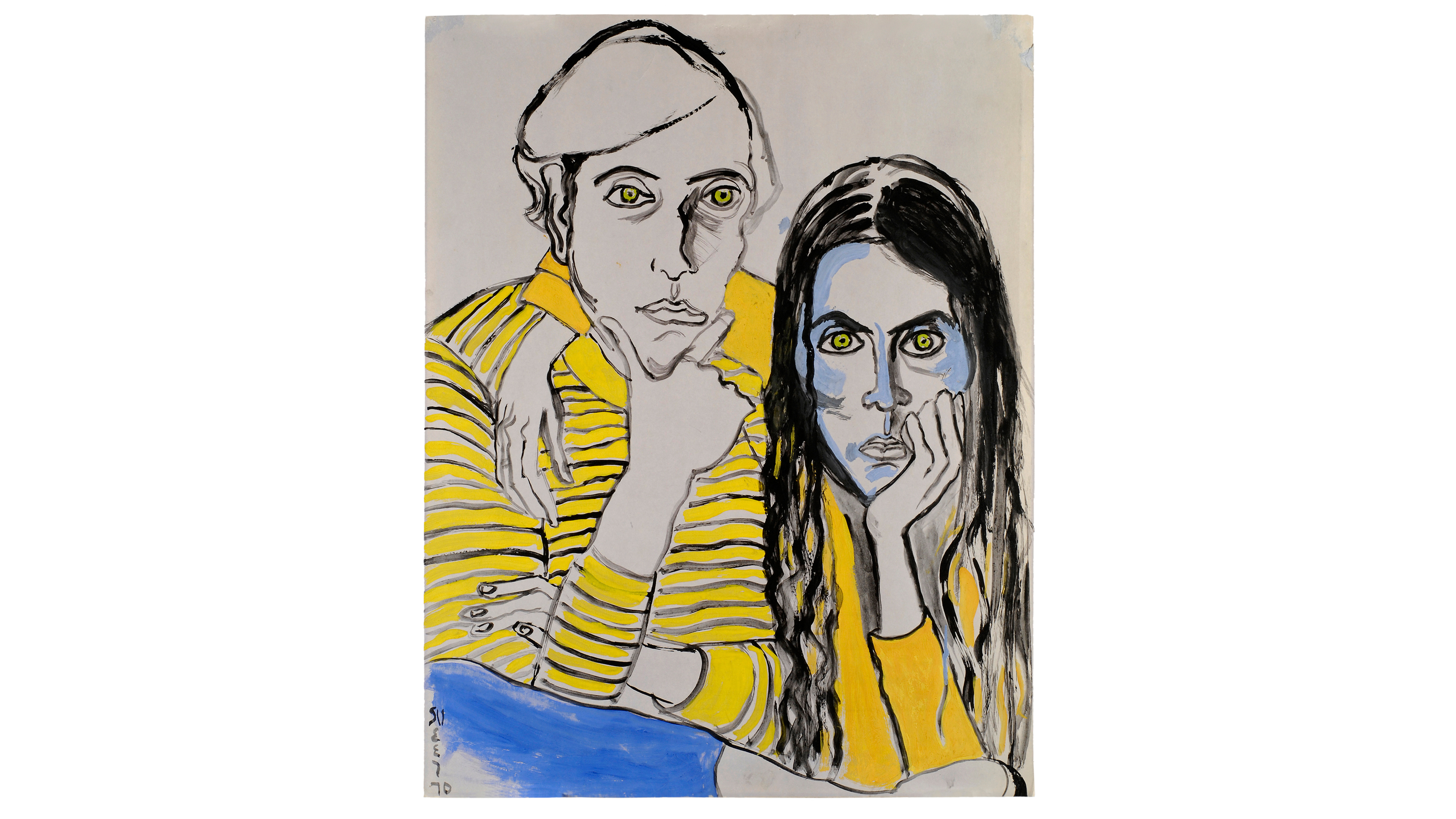 "Alice Neel, ""Drawings and Watercolors 1927–1978"""
