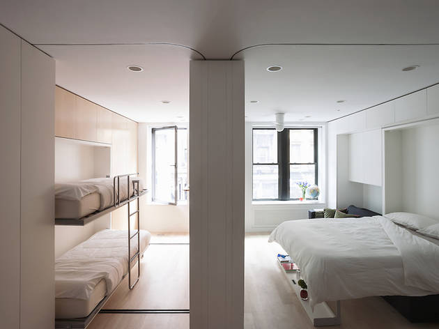 Four Tiny New York Apartments That Will Wow You With Their Creative Inspiration Four Bedroom Apartments Nyc Creative Interior