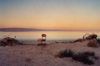 (Marcus Doyle (UK): Red Chair. Location: North Shores, Salton Sea, California)
