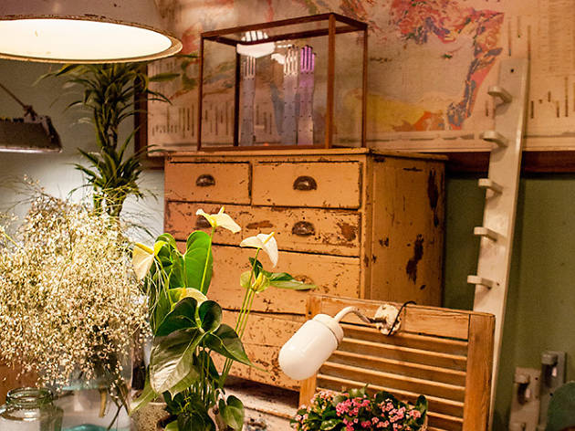 De muebles y flores (©Maria Dias)