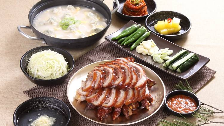 Where to eat Korean food in great local restaurants