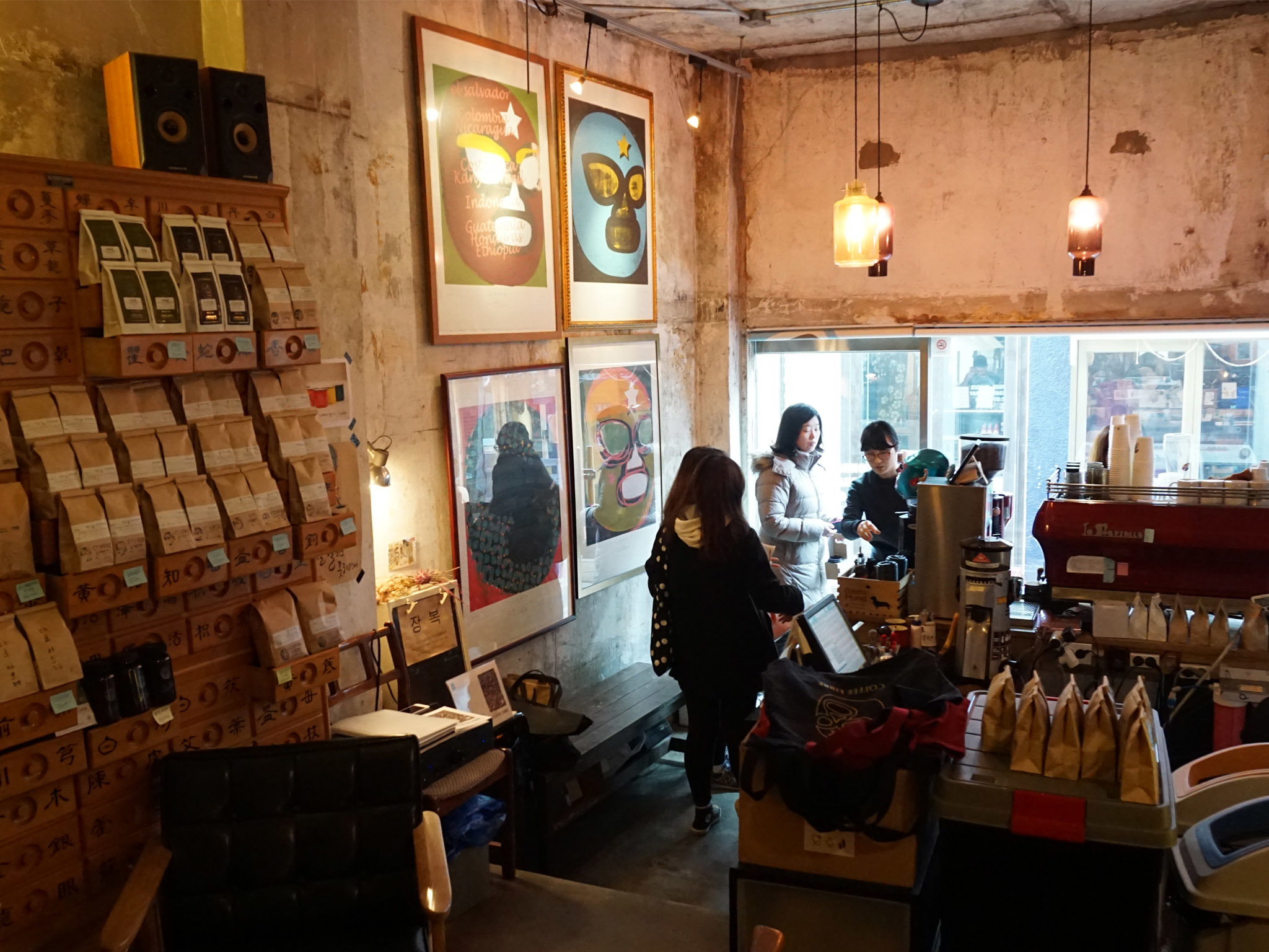 The best cafés in Hongdae