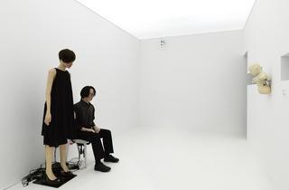 (Iroshi Ishiguro, 'Kouka', 2014 / Courtesy d'Hiroshi Ishiguro et dévelopé par l'Université d'Osaka / Photo : ©André Morin)