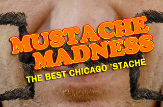Which manly man has the best mustache in Chicago?