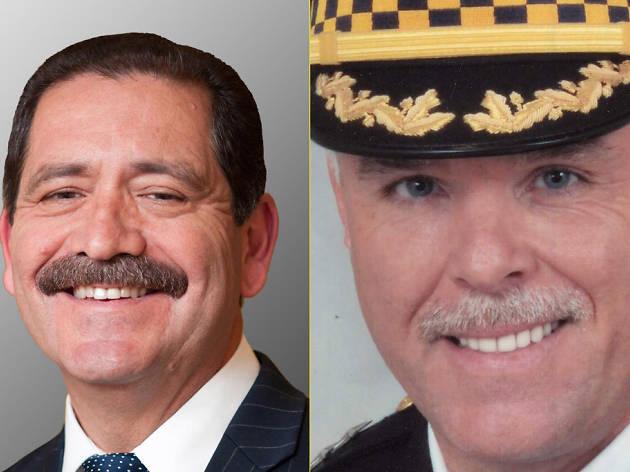 "Mayoral candidate Jesus ""Chuy"" Garcia versus Supt. Garry McCarthy"