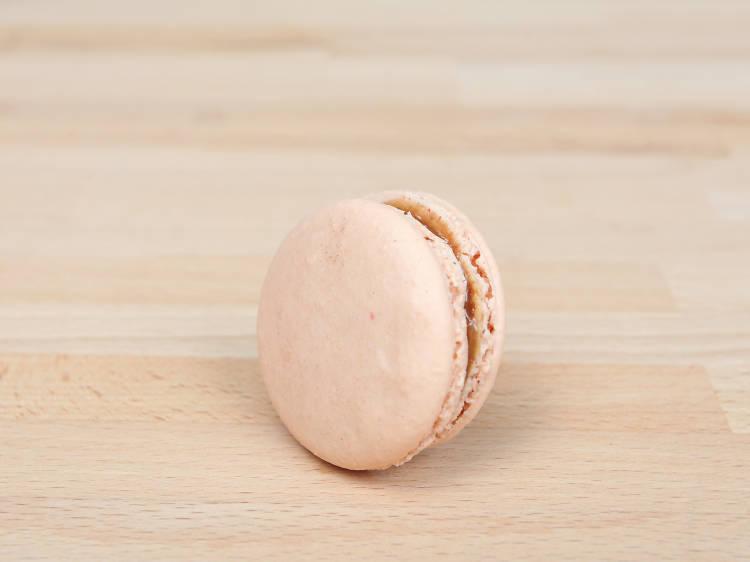 Salted Caramel at Bisous, Ciao Macarons