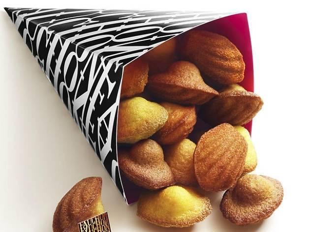 Fauchon ouvre un kiosque à madeleines