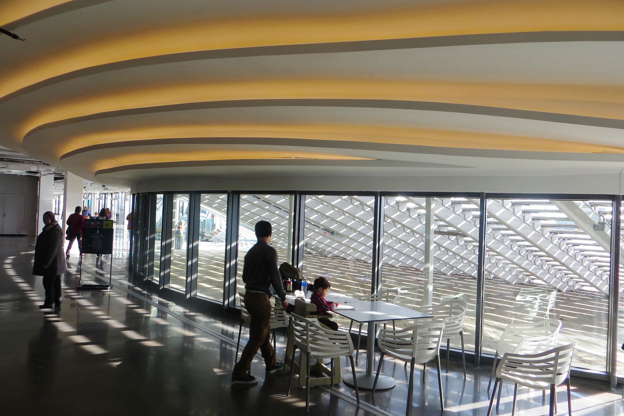 Check out the new food court at Navy Pier