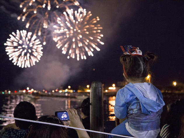 Bring your kids to the fireworks at Navy Pier