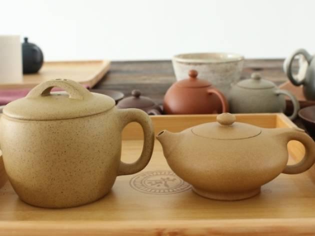 3) The teapot