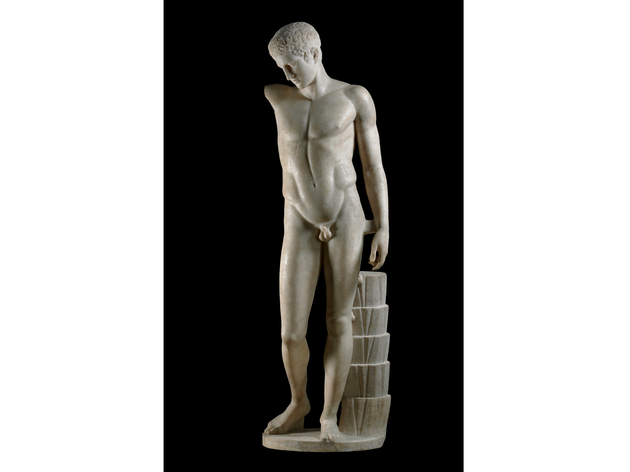 (Westmacott Youth - Roman copy from 1st century AD of a lost Greek original of about 430 BC. © The trustees of the British Museum)