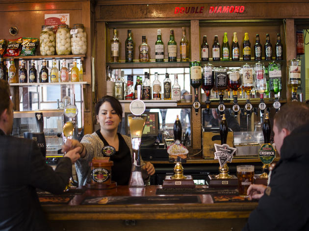 The 100 best bars and pubs in London - Coach & Horses, Soho