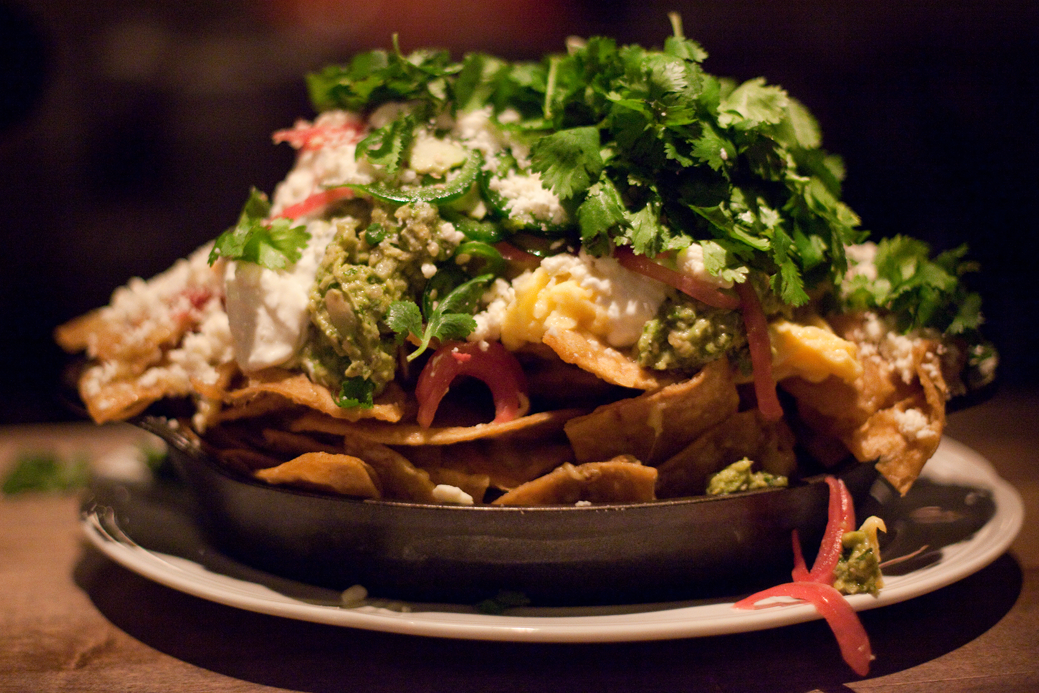 Chilaquiles After Midnight At Au Cheval