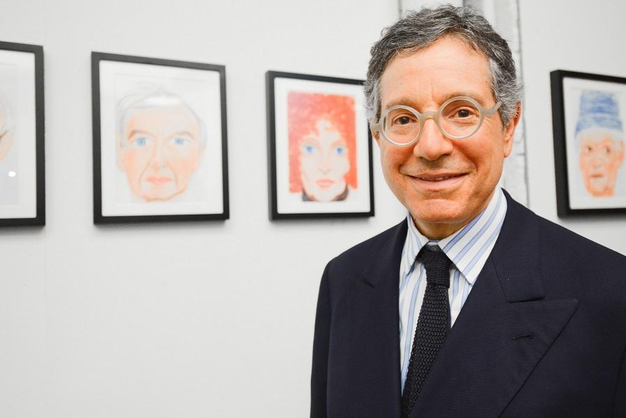 Jeffrey Deitch and Massimiliano Gioni