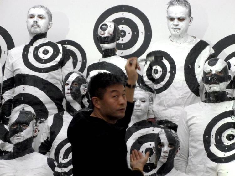 La performance camouflage de Liu Bolin