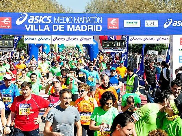 Asics Media Maratón Villa de Madrid 2015