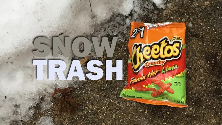 The 13 things you find after the snow melts