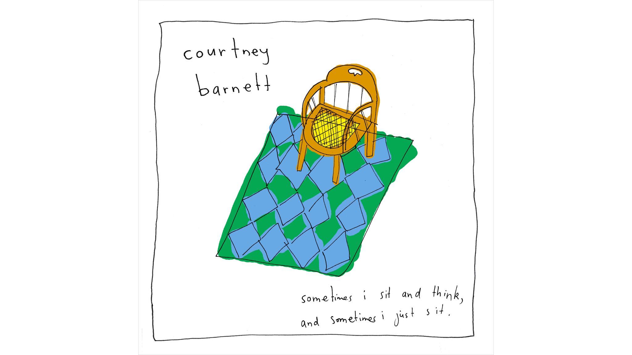 Courtney Barnett – 'Sometimes I Sit and Think, and Sometimes I Just Sit'