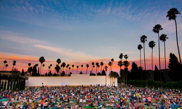 Catch an outdoor movie screening