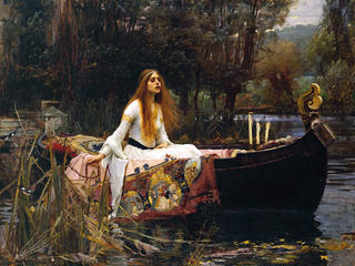 The Lady of Shalott, 1888, by John William Waterhouse