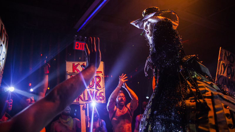 See photos of Rites XXXVI: The Black Party (NSFW)