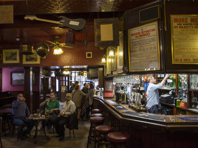 Old Coffee House Bars And Pubs In Soho London